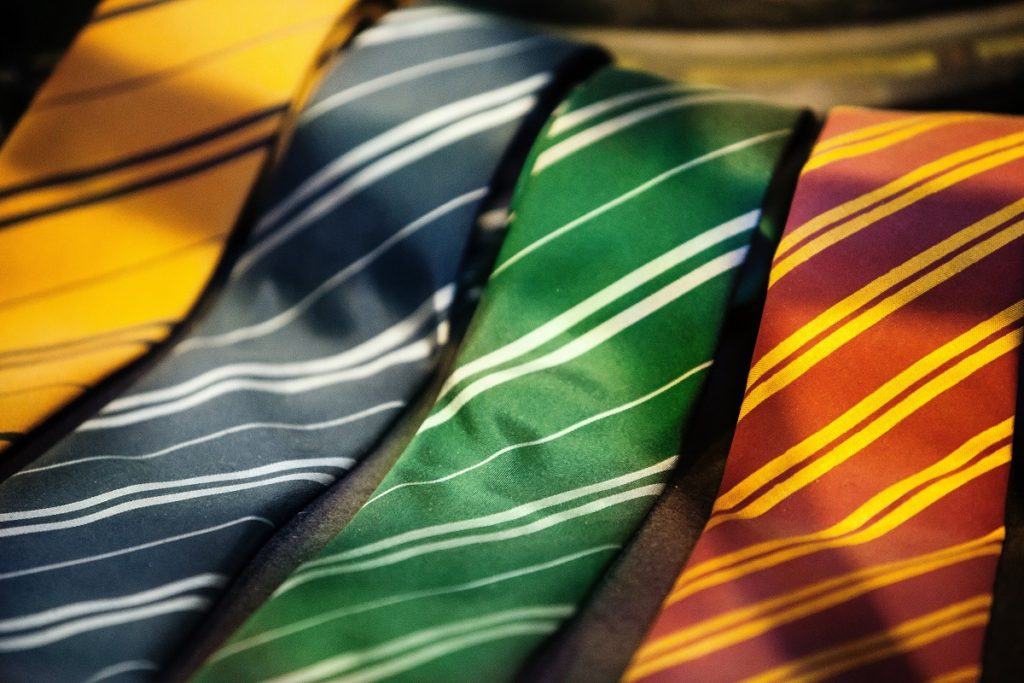 neckties with different colors