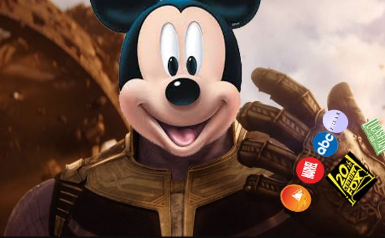 thanos mickey mouse