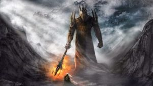 Morgoth standing