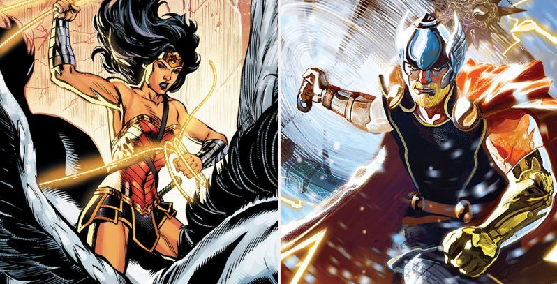 Thor Vs. Wonder Woman