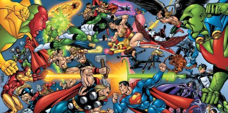 marvel thor superman