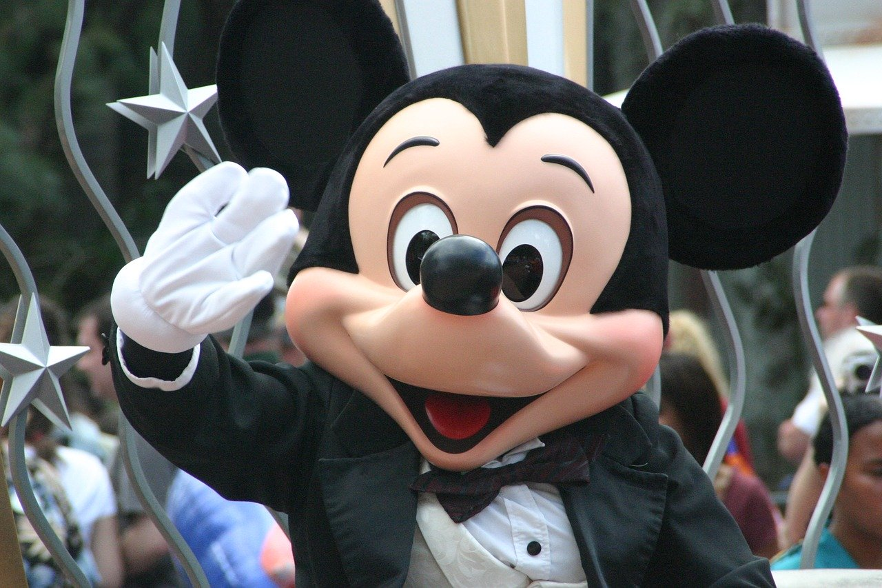 mickey mouse at Disneyland