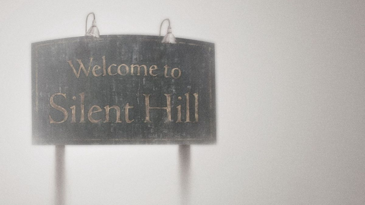 welcome to silent hill road sign