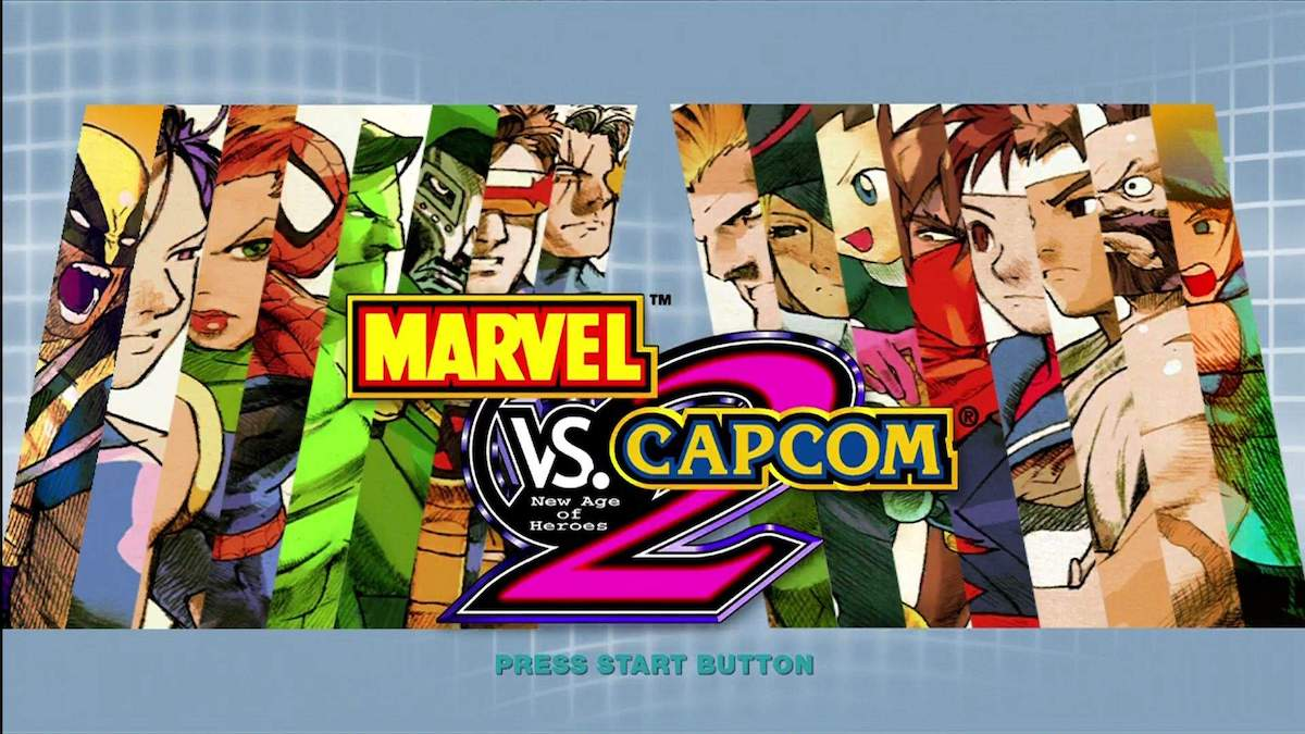 marvel vs capcom opening
