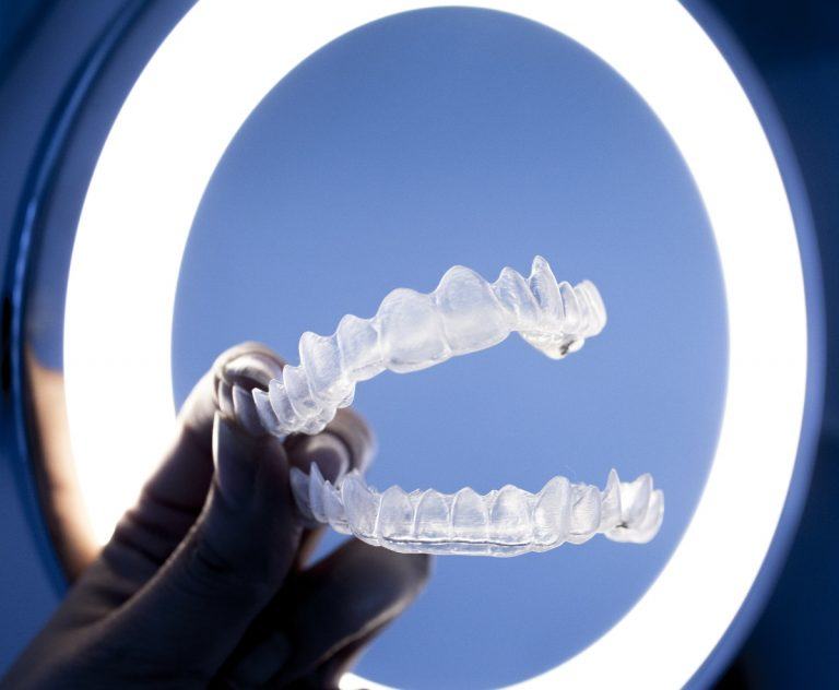 clear aligners product shoot